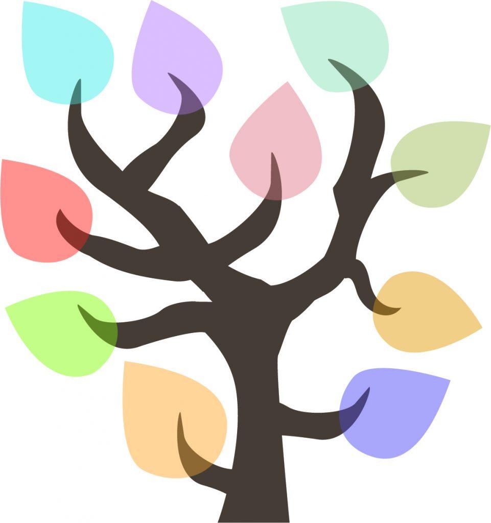 50 Ways to Reduce Your Waste Line Tree - Logo