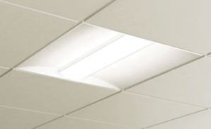 Photo of an light in a Sheridan classroom.