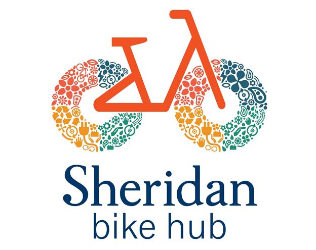 Sheridan Bike Hub Logo