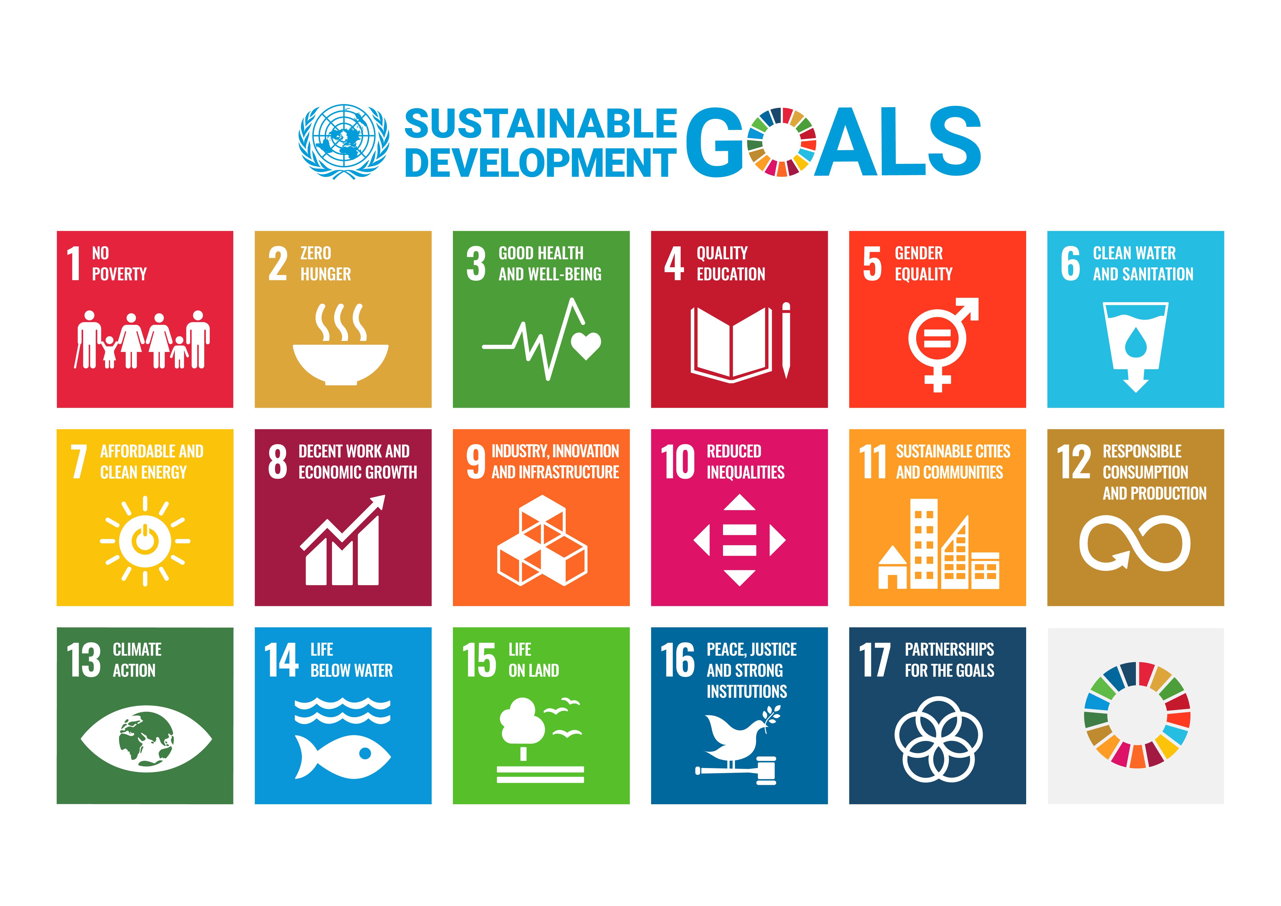 UN Sustainable Development Goals Infographic