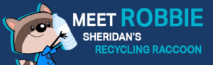 Meet Robbie; Sheridan's Recycling Raccoon